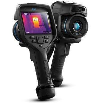 foto della termocamera FLIR E53