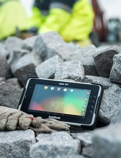 immagine dell'Handheld Algiz RT7 rugged tablet annodi