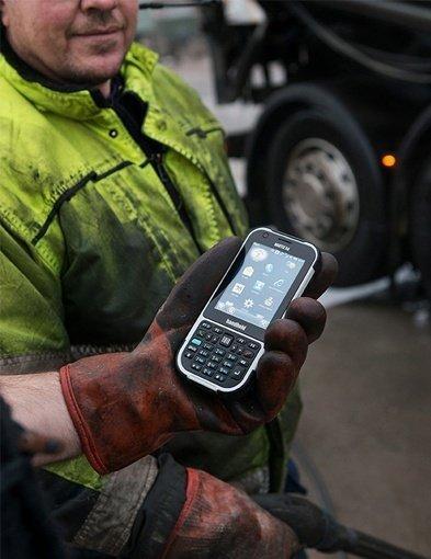 foto dell'Handheld Nautiz x4